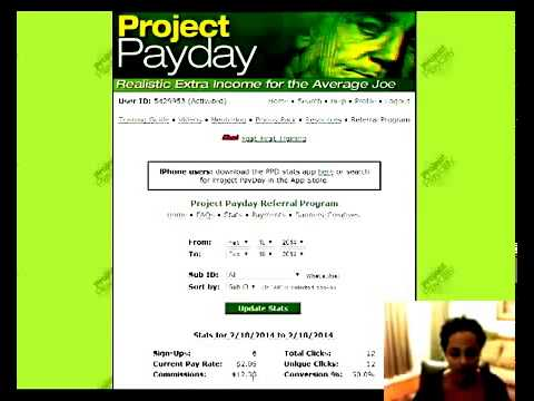 2015 – 2016 Making Money – See $871.50+ Income Proof As Of 12/23/14 – Project Payday