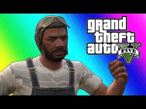 GTA 5 Online Missions: Hillbilly Assassins (Funny Moments & Fails)