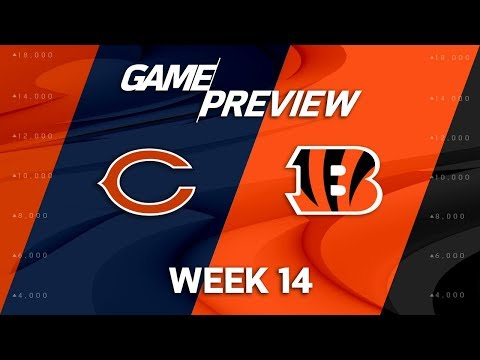 Video: Chicago Bears vs. Cincinnati Bengals | NFL Week 14 Game Preview | NFL Playbook