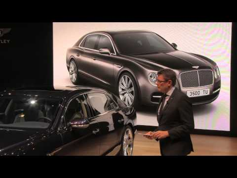 2014 Bentley Flying Spur Press Conference | Twin Cities Luxury Auto