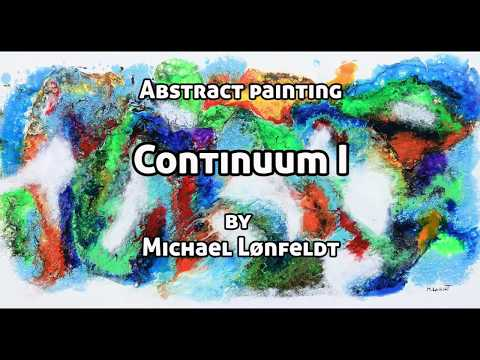 Continuum I - Abstract painting