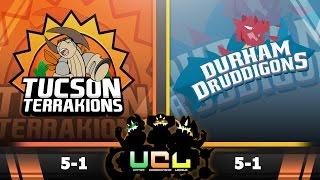 Pokémon ORAS LIVE Wi-Fi Battle [UCL S2W7] Tucson Terrakions vs Durham Druddigons by King Nappy