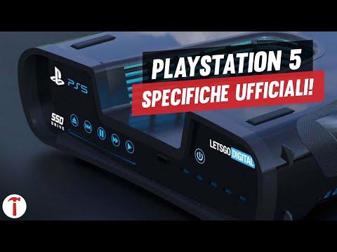 PS5 | SPECIFICHE TECNICHE UFFICIALI