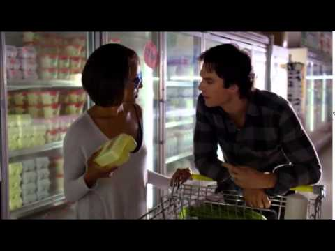 "TVD: Damon and Bonnie ""Shop Scene"""