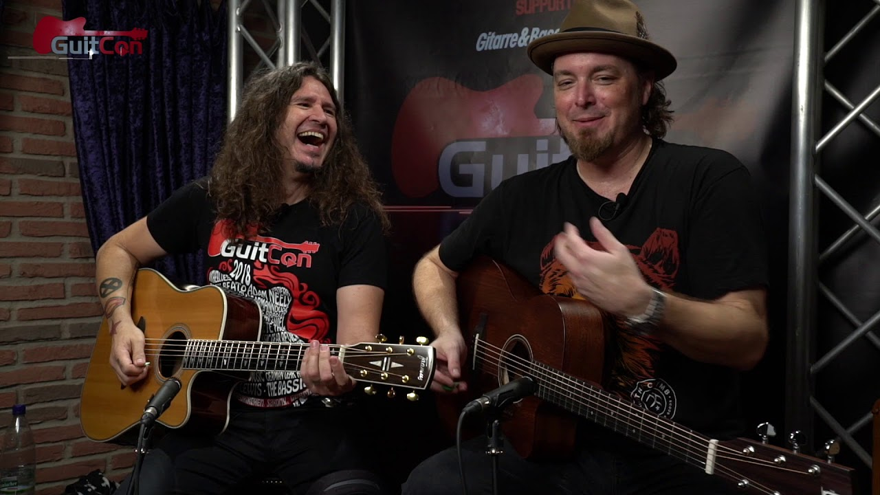 GuitCon 2018 Acoustic Guitar Vocal Melody Challenge with Phil X & Gearmanndude