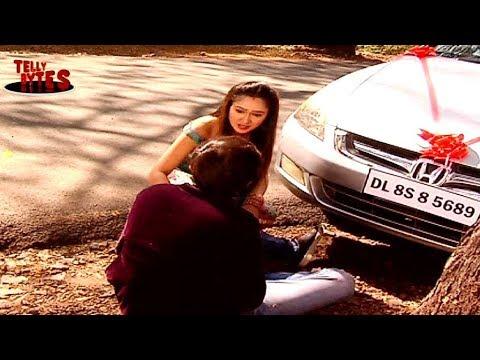 Sanjana HITS Sameer with her car ! Sasural Simar K