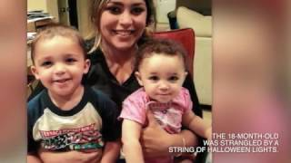 Kristen DePasquale's 18-month-old daughter was found unconscious in the living room. She was later pronounced dead. DePasquale now faces charges that she strangled her daughter with a string of Halloween lights and blamed her 2-year-old son.LET'S CONNECT:Facebook ► http://on.fb.me/1xVR12pGoogle+ ► http://bit.ly/101Ry82Twitter ► http://bit.ly/1wMZOT7Orlando Sentinel ► http://bit.ly/1wMZR1h