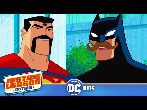 Justice League Action | Greatest Disguises | Dc Kids