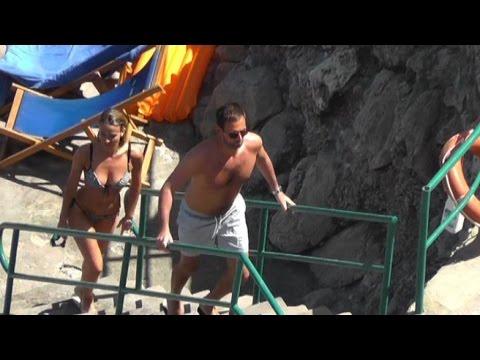 Diletta Leotta in bikini a Capri con il fidanzato
