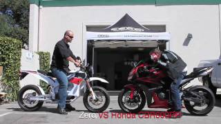 8. Zero Motorcycle VS Honda CBR600RR