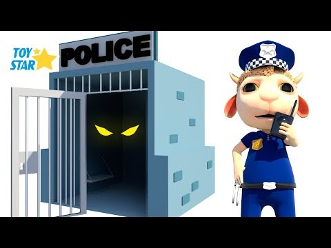 New 3D Cartoon For Kids ¦ Dolly And Friends ¦ Johny Police Jail Playhouse Toy  108