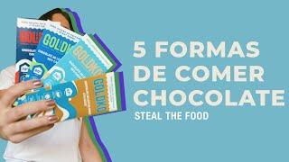 STEAL THE FOOD apresenta: receitas com chocolate