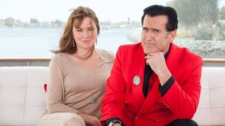 Ash vs. Evil Dead's Lucy Lawless & Bruce Campbell @ Comic-Con 2015