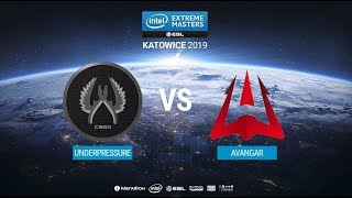 UnderPressure vs. AVANGAR - IEM Katowice 2019 Closed Minor CIS QA - map1 - de_train [MintGod]