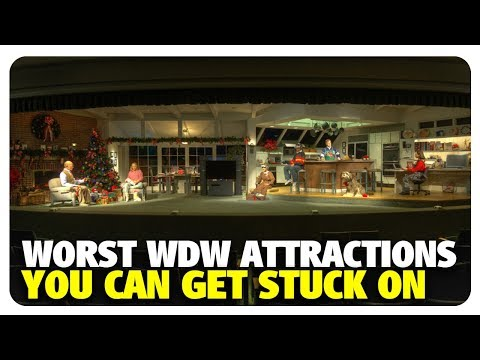 WORST Attractions to Get Stuck On at Walt Disney World | Best and Worst | 10/03/18