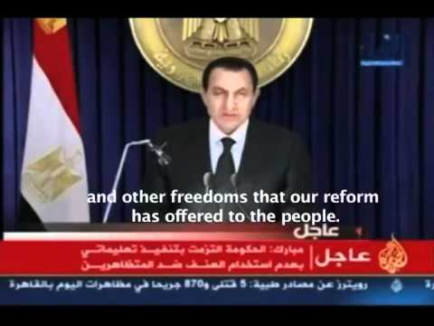 Egyptian Revolution 2011 COMPLETE. World MUST MUST watch this. Freedom for All!