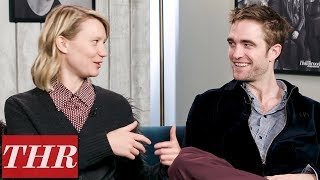 "Video Mia Wasikowska & Robert Pattinson on ""Bold & Unusual"" Western 'Damsel' 