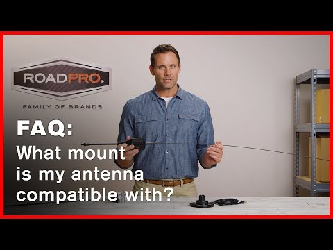 CB Radio FAQ #9 - How do I know if my antenna is compatible with a specific mount?