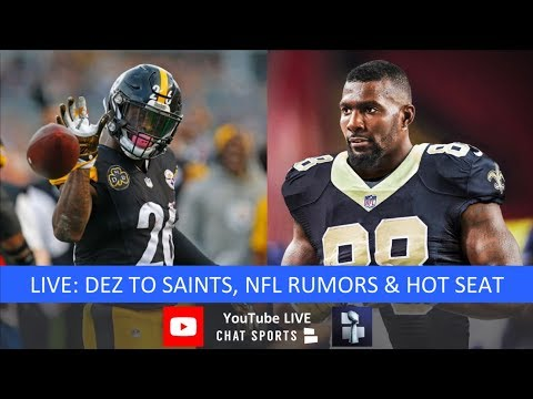 NFL Rumors, Dez Bryant Signs With Saints, Le'Veon Bell Latest, NFL News, And NFL Coaching Hot Seat