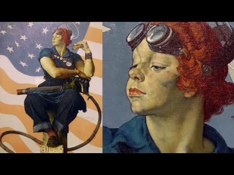 Norman Rockwell Rosie The Riveter Video