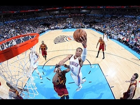 Video: Russell Westbrook Scores 26 to Lead Thunder Past Cavs