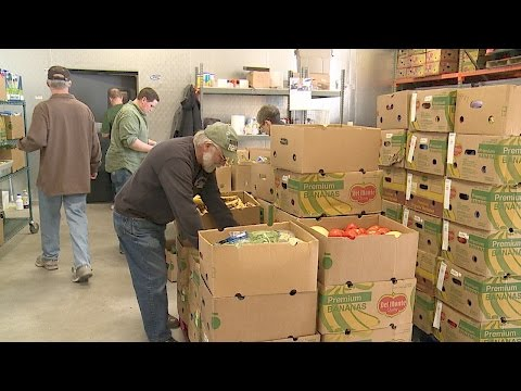 Truck Day at the Friends in Need Food Shelf