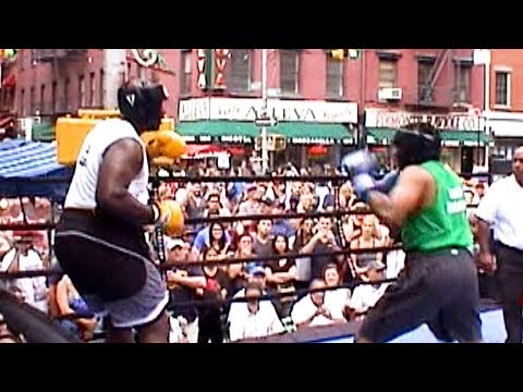 HEAVYWEIGHT BRAWL IN LITTLE ITALY : NY DAILY NEWS BOXING 8/12/17