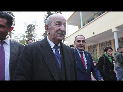 Αλγερία – Προεδρικές Εκλογές: Νικητής  ο Αμπντελματζίντ Τεμπούν με 58% των ψήφων …