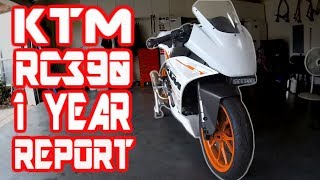 10. KTM RC390 LONG TERM RIDE REPORT