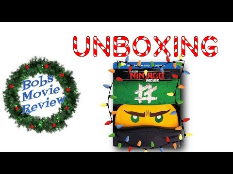 The Lego Ninjago Movie Steelbook Unboxing ( Best Buy )