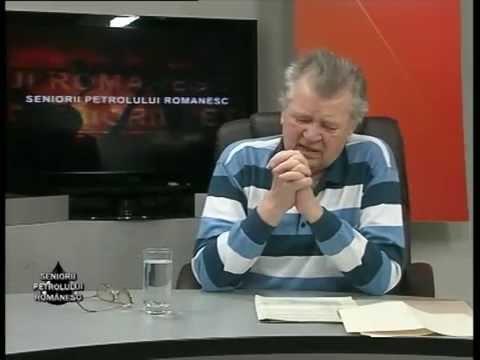 Emisiunea Seniorii Petrolului Românesc – Ștefan Traian Mocuța – 8 noiembrie 2014