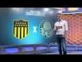 Palmeiras desembarca em Montevidéu para o duelo
