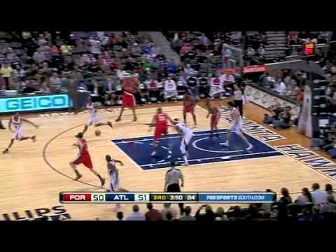 Portland Trail Blazers 82 – Atlanta Hawks 91