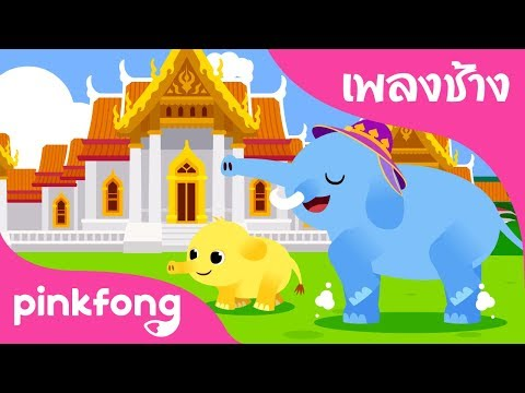 Chang Chang Chang   Animal Songs   เพลงช้าง   เพลงอนุบาลภาษาไทย   เพลง Pinkfong สำหรับเด็ก