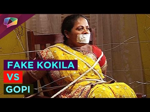 Fake Kokila to blackmail Gopi on Saath Nibhana Saa