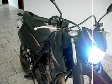 Yamaha XTZ 250X Escapamento duplo