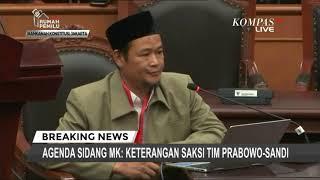 Video Saat Bersaksi di MK, Saksi Tim Prabowo Mengaku Diancam Dibunuh MP3, 3GP, MP4, WEBM, AVI, FLV Juni 2019