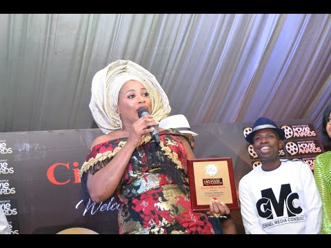 CLARION CHUKWURA BLAST YOUNGER COLLEAGUES @ CITY PEOPLE MOVIE AWARD 2019