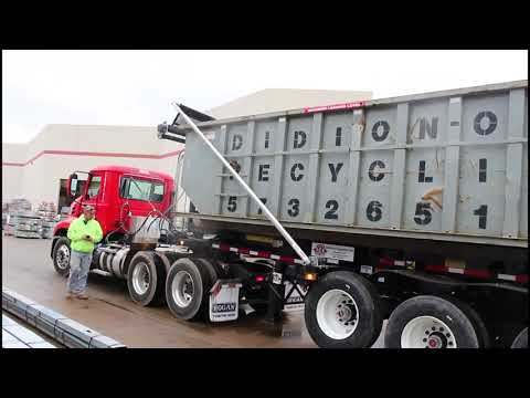Ace Mini Roll Off Trailer Dumping Container