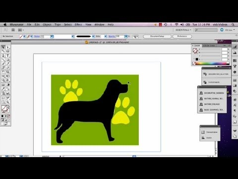 How To Crop A JPEG In Illustrator : Adobe Illustrator