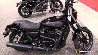 10. 2017 Harley Davidson Street 750 - Walkaround - 2017 Toronto Motorcycle Show