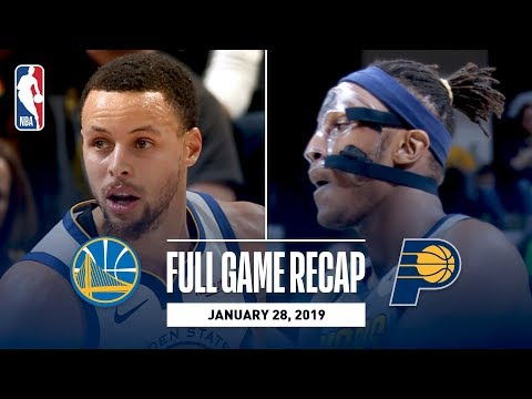 Video: Full Game Recap: Warriors vs Pacers | Golden State Goes For 11th Straight Victory