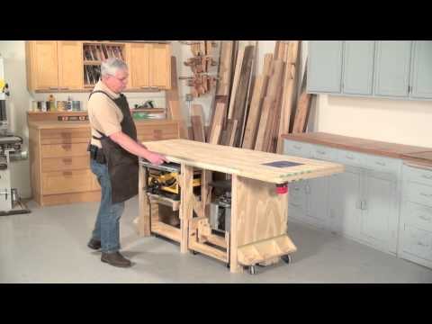 Power Tool Friendly Bench