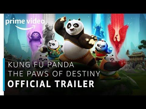 Kung Fu Panda: The Paws Of Destiny   Official Trailer   Prime Original   Amazon Prime Video