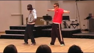 Dance Style: POPPING Not LOCKING