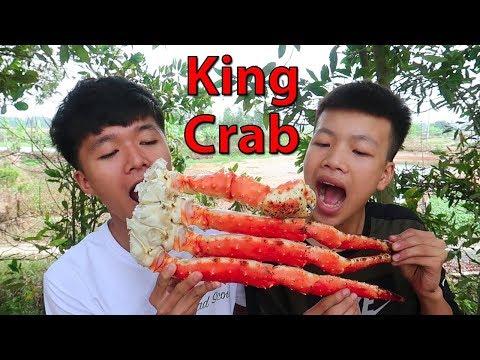 Hữu Bộ | Chân Cua Hoàng Đế Nướng Mỡ Hành | Grilled KING CRAB - Thời lượng: 10:55.