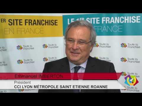 Emmanuel Imberton, président de la CCI Lyon Métropole Saint-Etienne Roanne