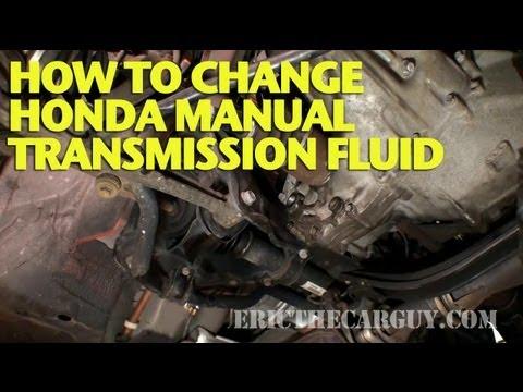 Changing manual transmission fluid honda civic фотка