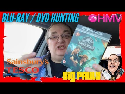 Blu-ray / DVD Hunting with Big Pauly (05/11/2018) Jurassic World Day!