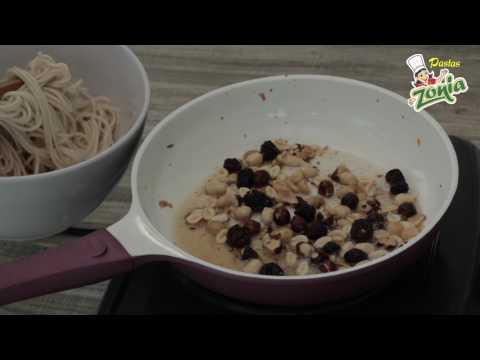 Spaghetti y Frutos Secos | PASTAS ZONIA